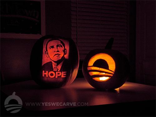 Obama Pumpkins