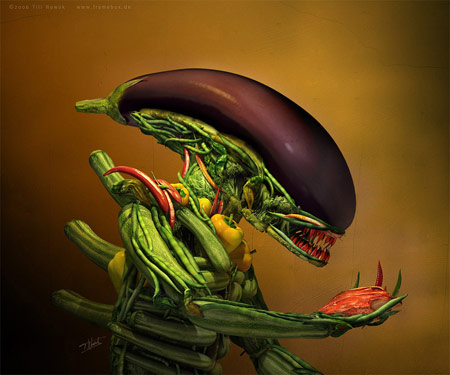 alien veggies