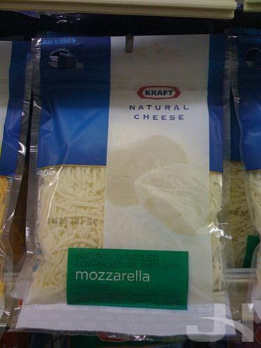 kraft shredded cheese new packaging
