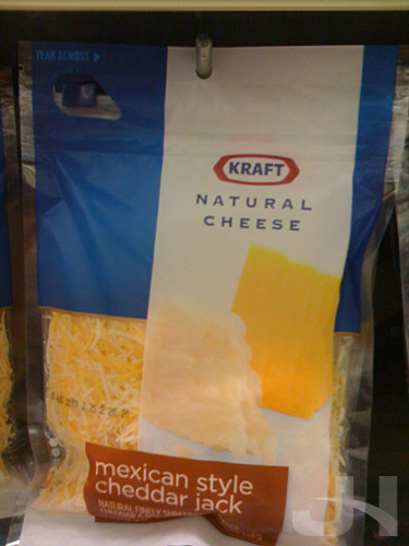 kraft shredded cheese new packaging