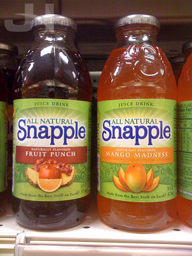 new snapple bottles