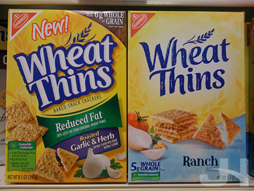wheat thins packaging old and new