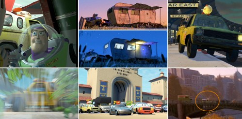 pizza planet truck in past films