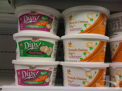 stop and shop dips