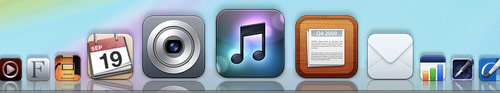 flurry icons in my dock
