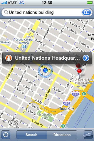 myphone in nyc: finding the united nations