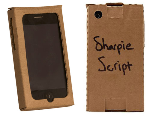 paper iphone case