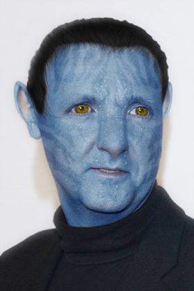james cameron as an avatar